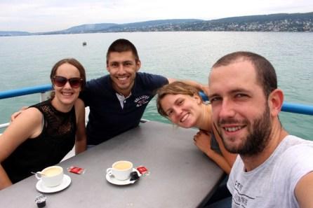 ...avec Fabienne et Benoit!