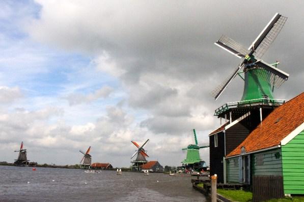 Les magnifiques moulins!
