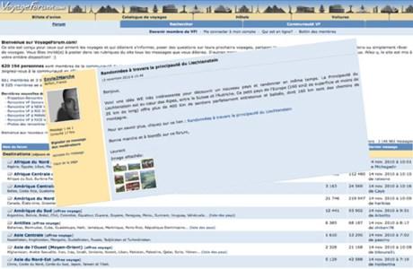 Voyage forum pour programmer un séjour en marchant