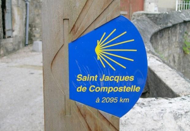 Saint Jacques de Compostelle en marchant
