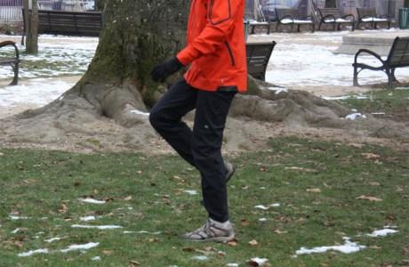 Exercice proprioception pour la marche