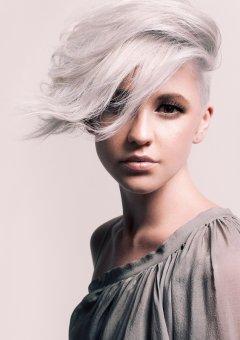 Isig blond till silver