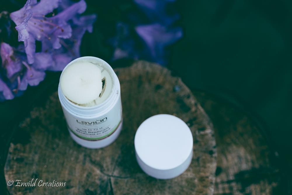 Recension av giftfri naturlig deo/deodorant av Lavilin.