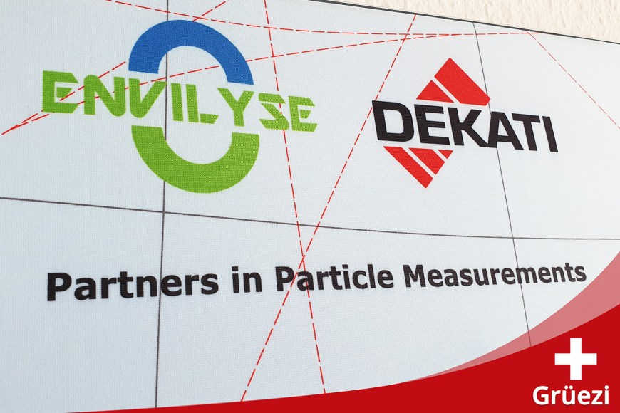 April 2019 – ENVILYSE extends the Dekati® sales area to Switzerland.