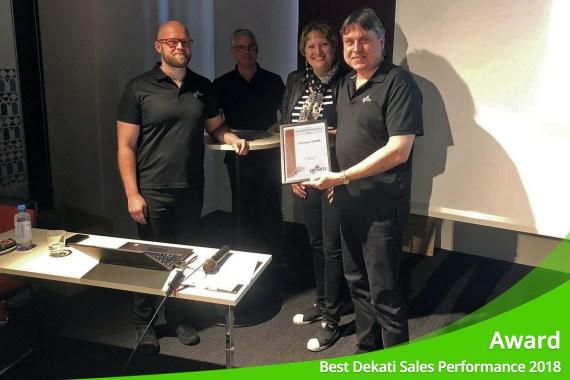"Juni 2019 – ENVILYSE erhält Award für ""Best Dekati Sales Performance 2018"""