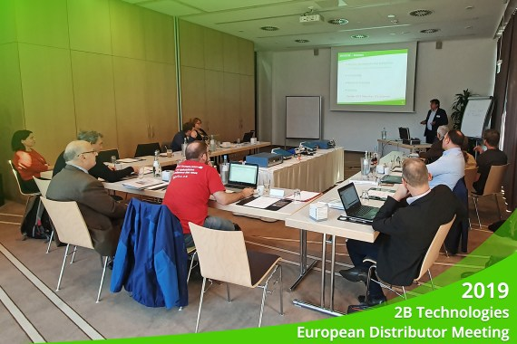 Oktober 2019 – 2B Technologies European Distributor Meeting 2019, Essen