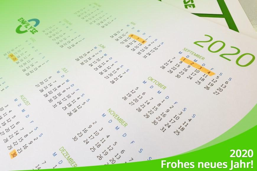 Januar 2020 – Frohes Neues / Die ersten Termine stehen schon fest