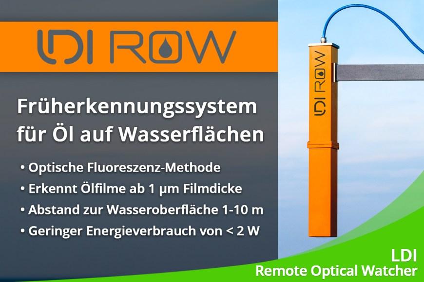 Februar 2020 – Ölerkennung auf Wasserflächen mit dem LDI ROW