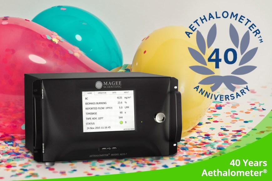November 2020 – 40 Years Aethalometer<sup>®</sup>