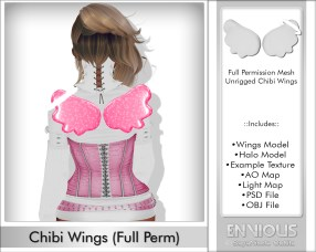 Chibi Wings Full Permission