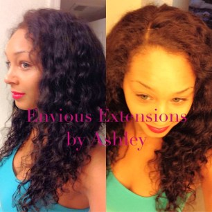 Full Weave with Lace Closure