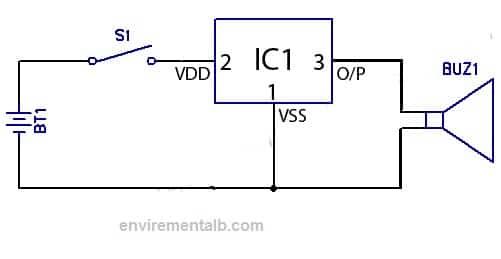 melody generator using ic um66