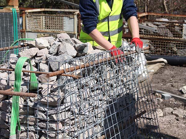Blackpool Prefill and Lift Yard Filling