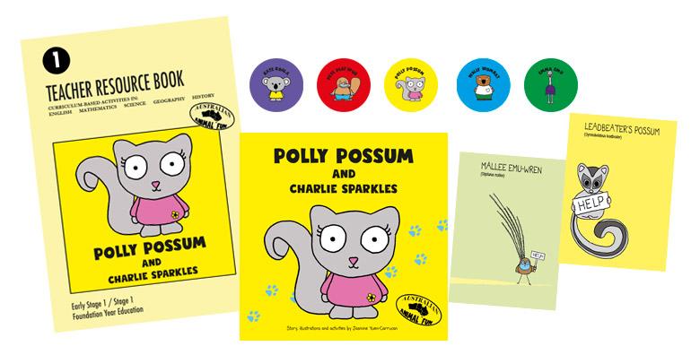 Polly Possum Class Pack