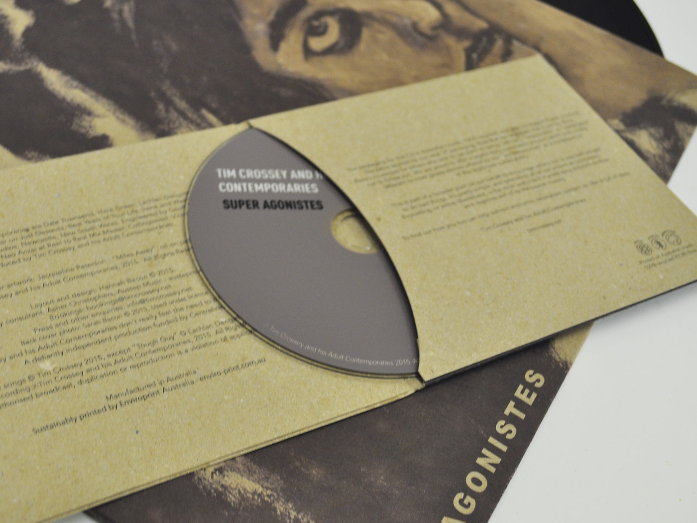 Recycled Music CD Sleeves