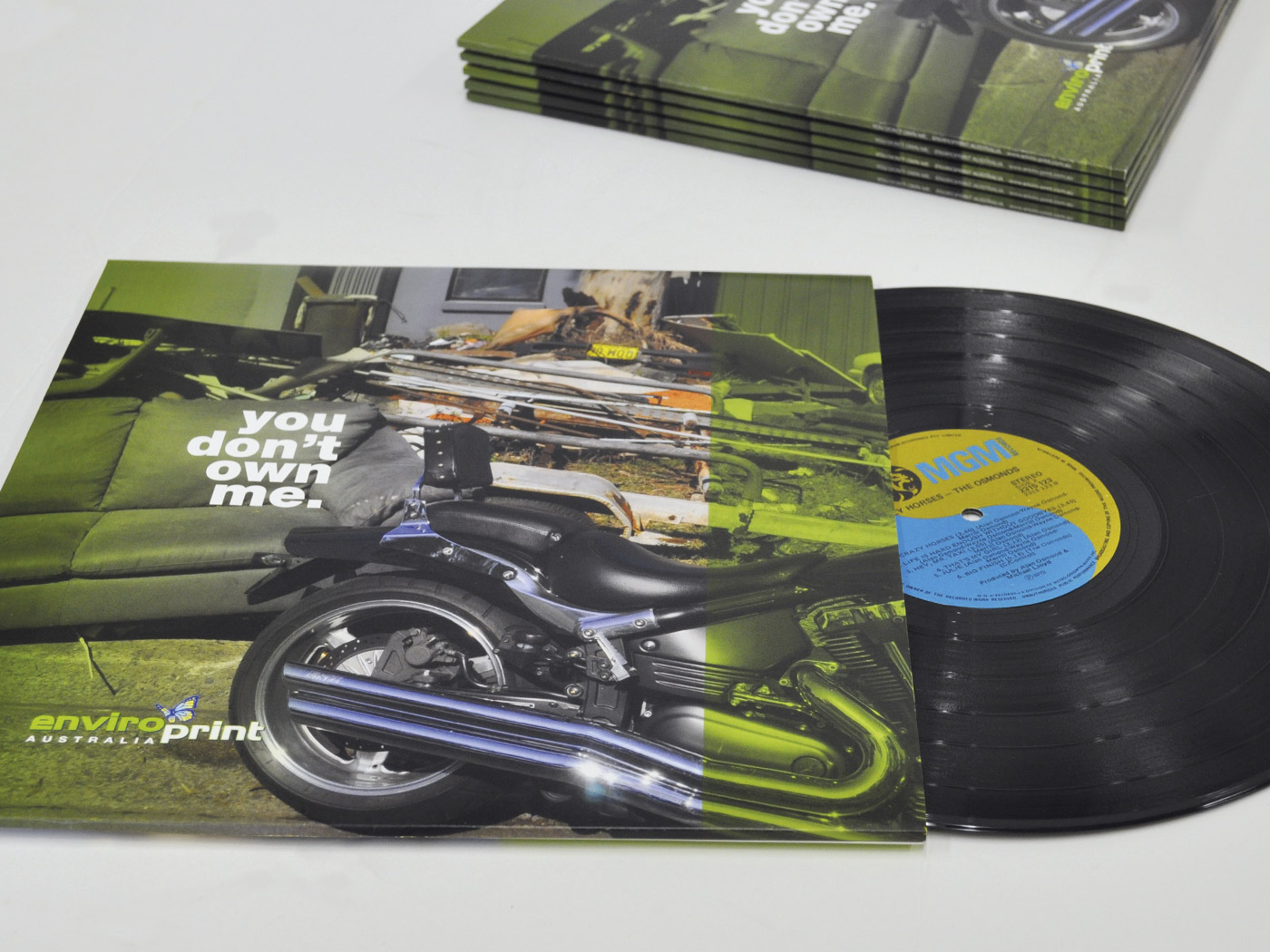 Recycled Board - Vinyl Record Sleeves