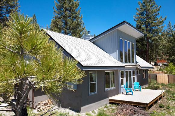 South facing roof angle maximized for future solar panels
