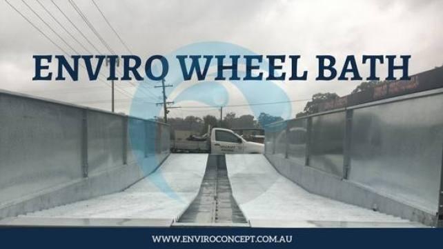Wheel Bath, Enviro Concepts