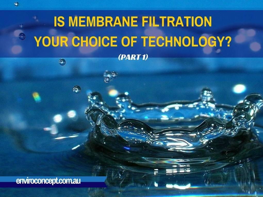 Enviro Concepts, Membrane, Filtration, RO