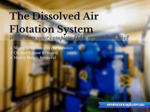 Dissolved Air Flotation, water filtration