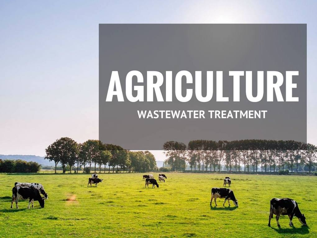 Agricultire wash bays, water treatment