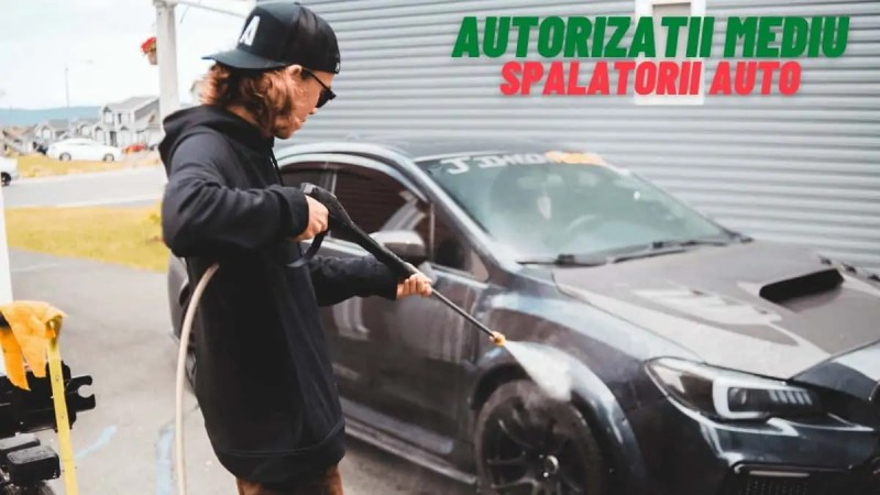 Obtinere autorizatii mediu spalatorii auto - EnviroCons
