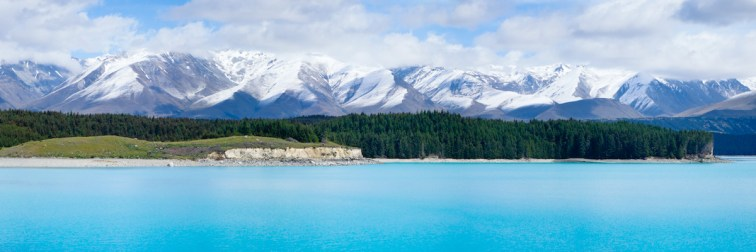 Lake Pukaki, Mt Cook (Aoraki) National Park, South Island