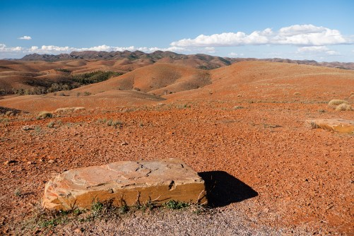 View from Stokes Lookout, Flinders Ranges, South Australia