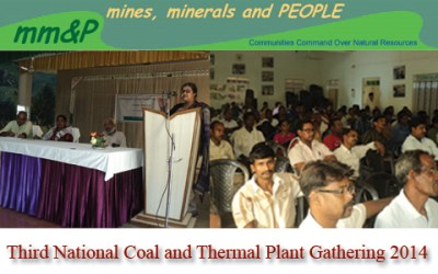 03rd National Coal & Thermal  Plant Gathering, Dumka, 16-17 Oct. 2014