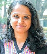 Portrait: Aruna Raman