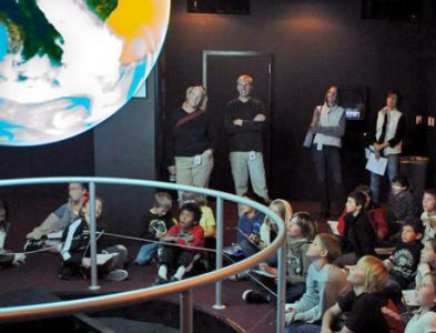 Science on a Sphere at the Science Museum
