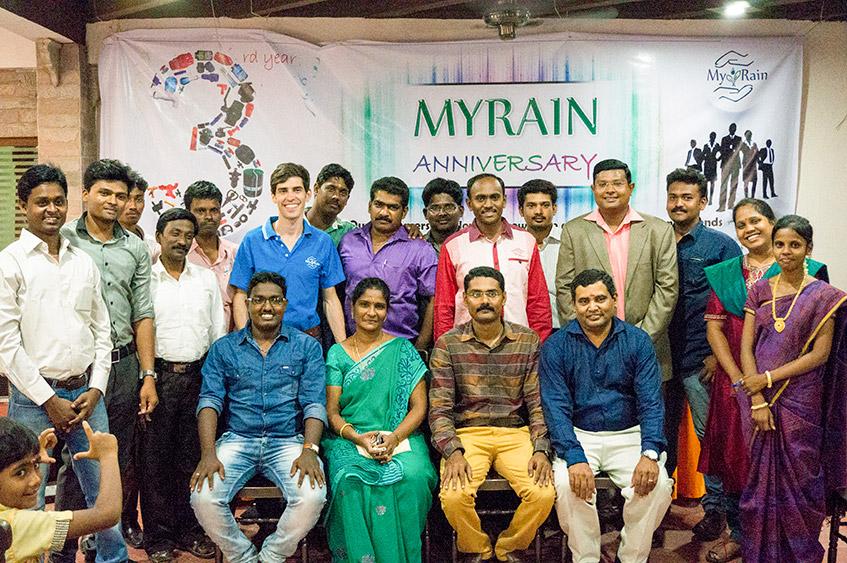 MyRain 3 year anniversary group photo