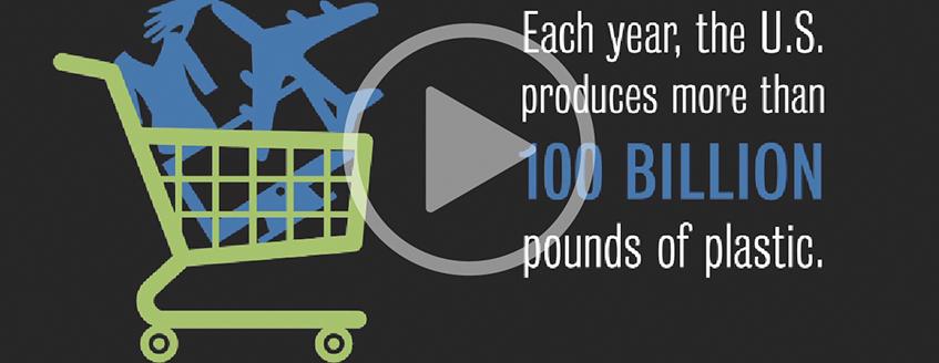 screenshot of youtube video on U.S production of plastic