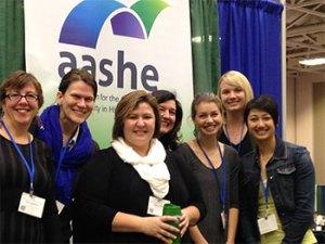AASHE group photo