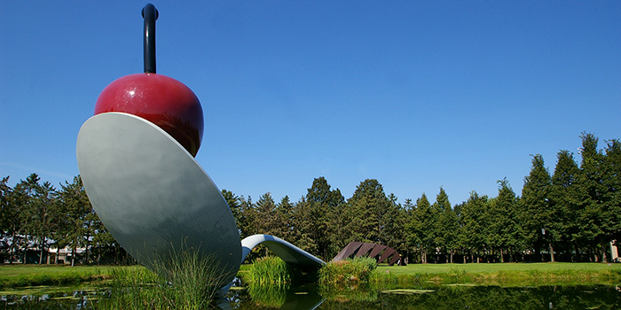 Walker Art Center-Sculpture garden