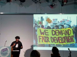 Destiny Watford, Free Your Voice activist (Photo, Kyle Samejima)