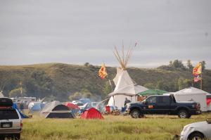 Standing Rock's Oceti Sakowin Camp, Photo Credit: Kyle Samejima