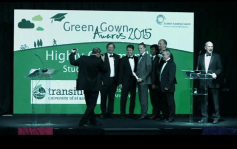 Transition \'Highly Commended\' at Green Gown Awards | Environment ...