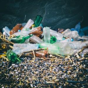 pile of various plastic garbage