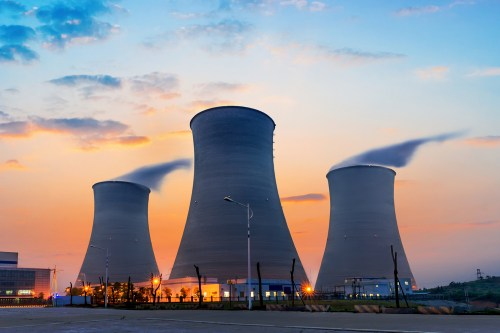 The safety of nuclear power is being questioned.