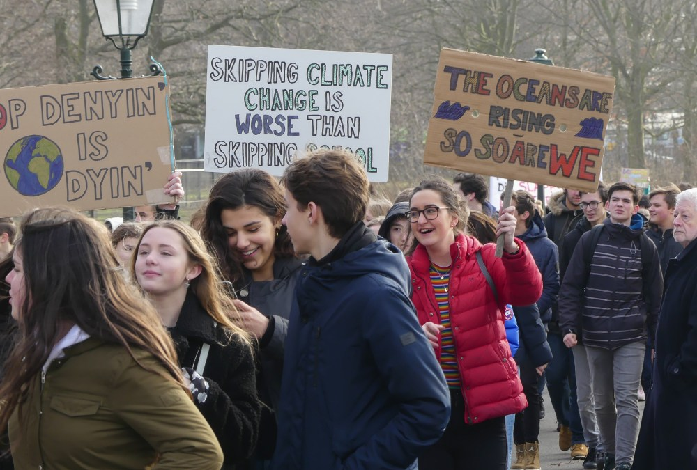 Dutch Students Rally to Save the Planet