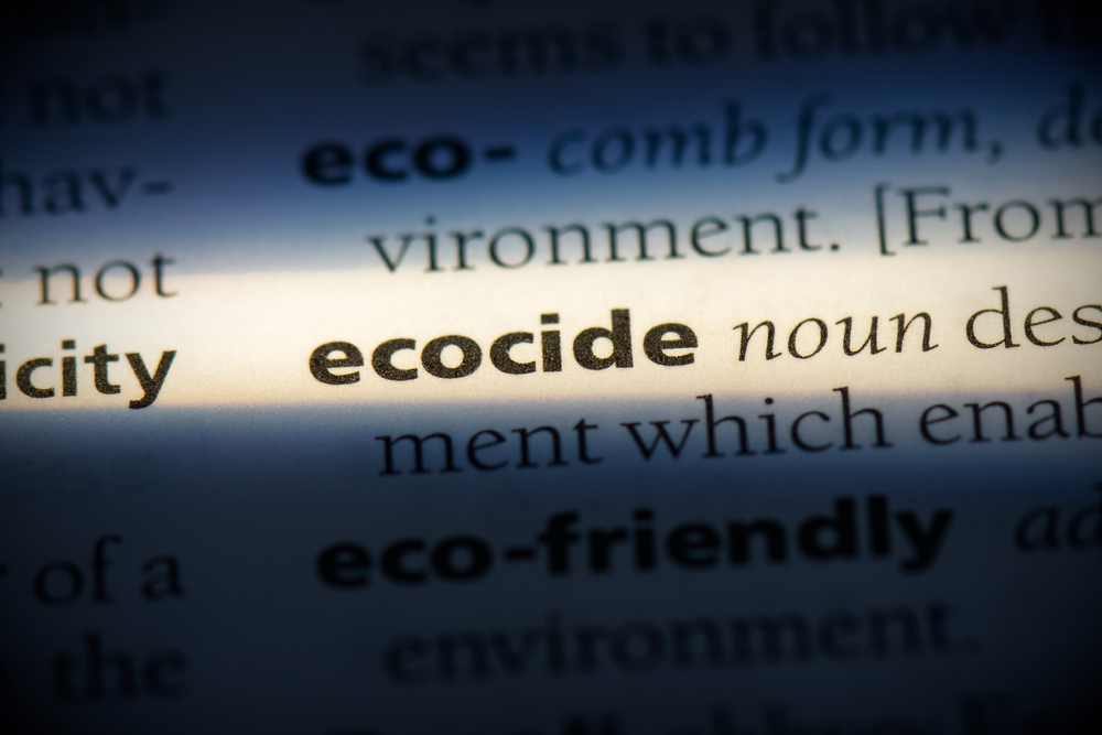 Ecocide Proposed as Fifth International Crime