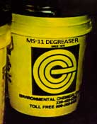 MS-11 Degreaser - Environmental Chemical Corporation