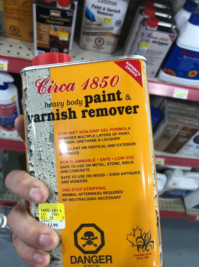 paint stripper at Home Hardware