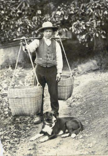 Chinese market gardener Sing Chow