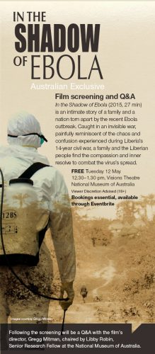 In the Shadow of Ebola poster