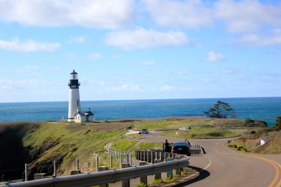 Yaquina Head Lighthouse, station where common murre monitoring takes place.
