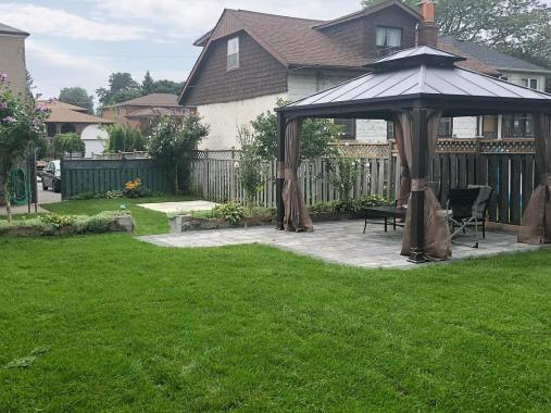 Backyard with Gazebo