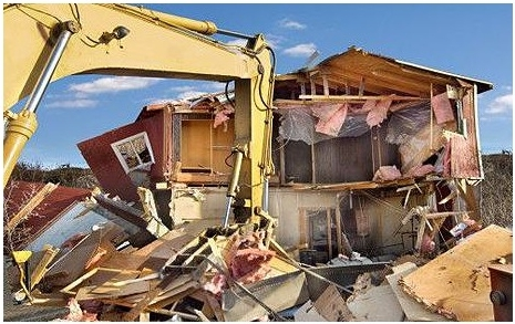 Decreasing population and recession may mean bulldozing neighborhoods
