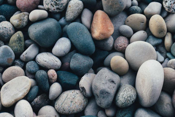 Mindfulness image of pebbles